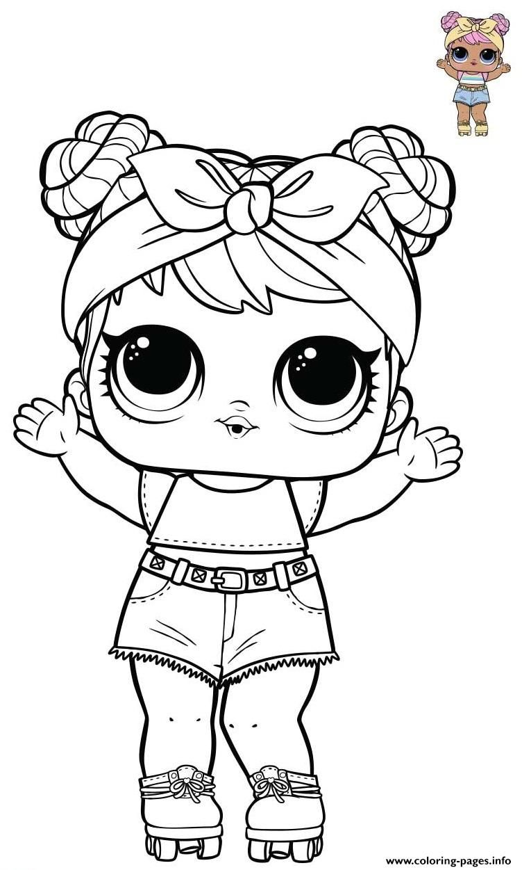 Print Dawn Lol Doll From Opposites Bluc Series 3 Wave Coloring Pages Disney Coloring Pages Baby Coloring Pages Barbie Coloring Pages