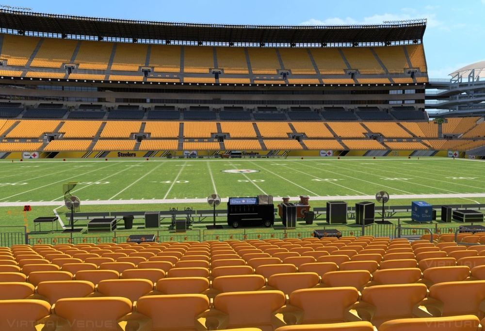 Los Angeles Chargers at Pittsburgh Steelers 2 tickets lower level 12