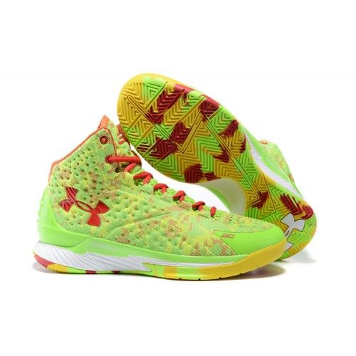 UA Stephen Curry One Candy Reign Lime