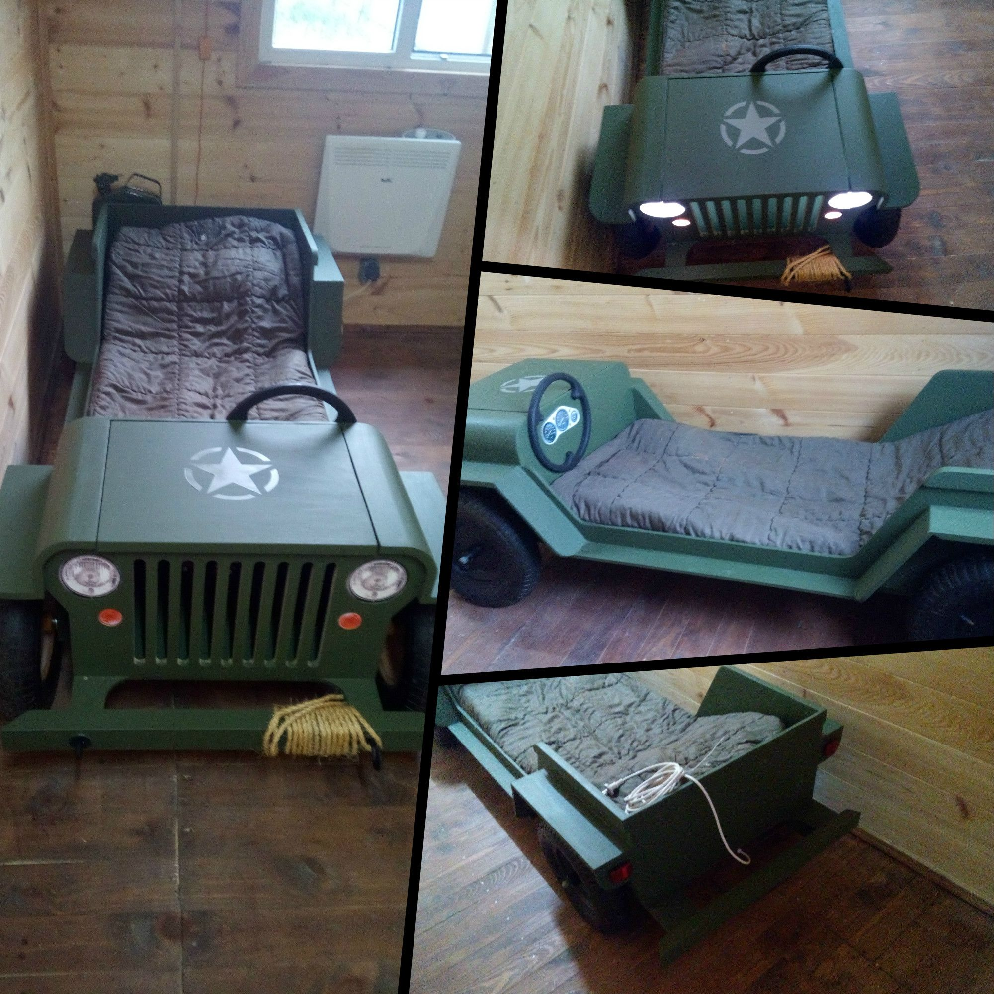 Baby jeep bed - Diy Plans Toddler Jeep Bed Plans Inch