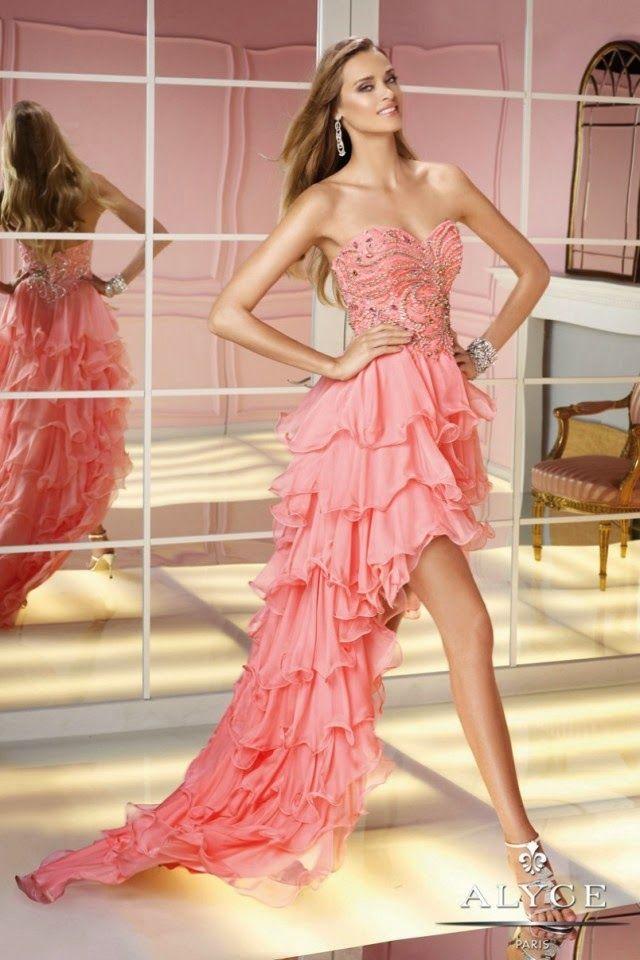 Increibles vestidos de fiesta   Colección   ❤❤❤...Vestidos ...