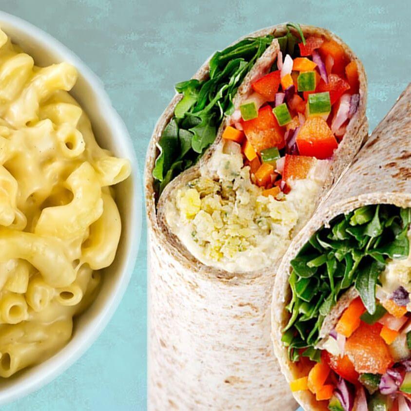 Starbucks Launches Vegan Mac N Cheese And Breakfast Burritos Mac N Cheese Vegan Mac N Cheese Breakfast Burritos