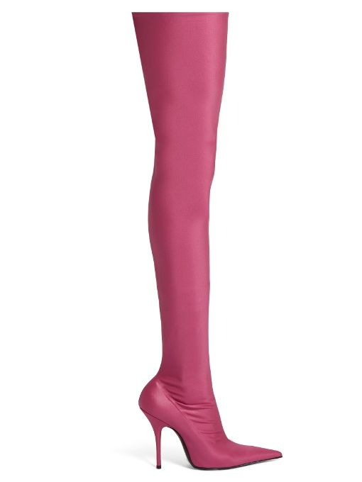 Balenciaga Knife point-toe over-the-knee boots