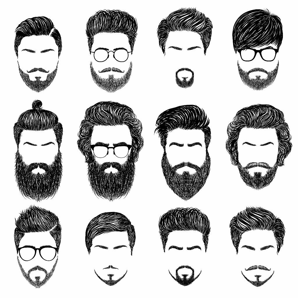 Pin By Gaurav Abhishek On Sketches Mens Hairstyles With Beard