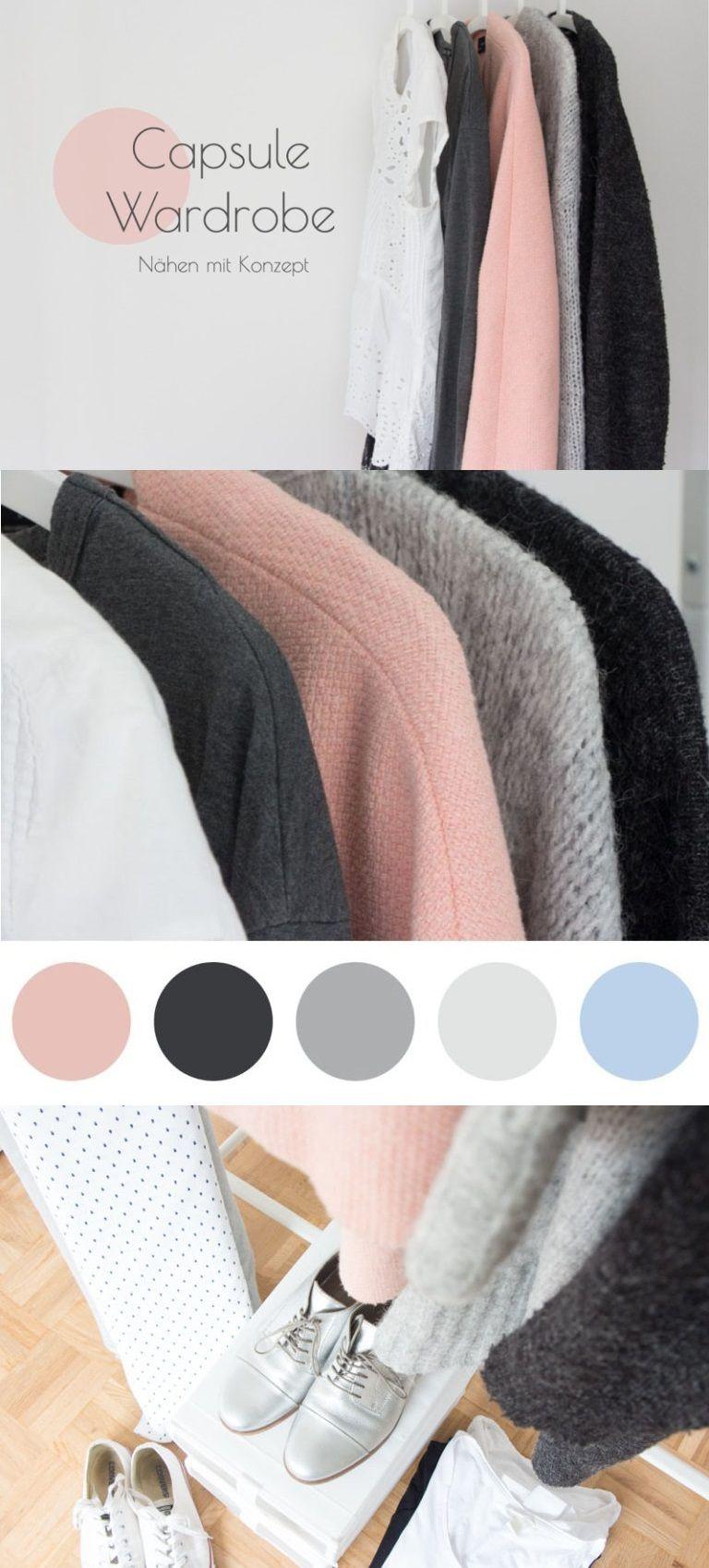 Capsule wardrobe wie du mit konzept n hen kannst for Minimalistischer kleiderschrank