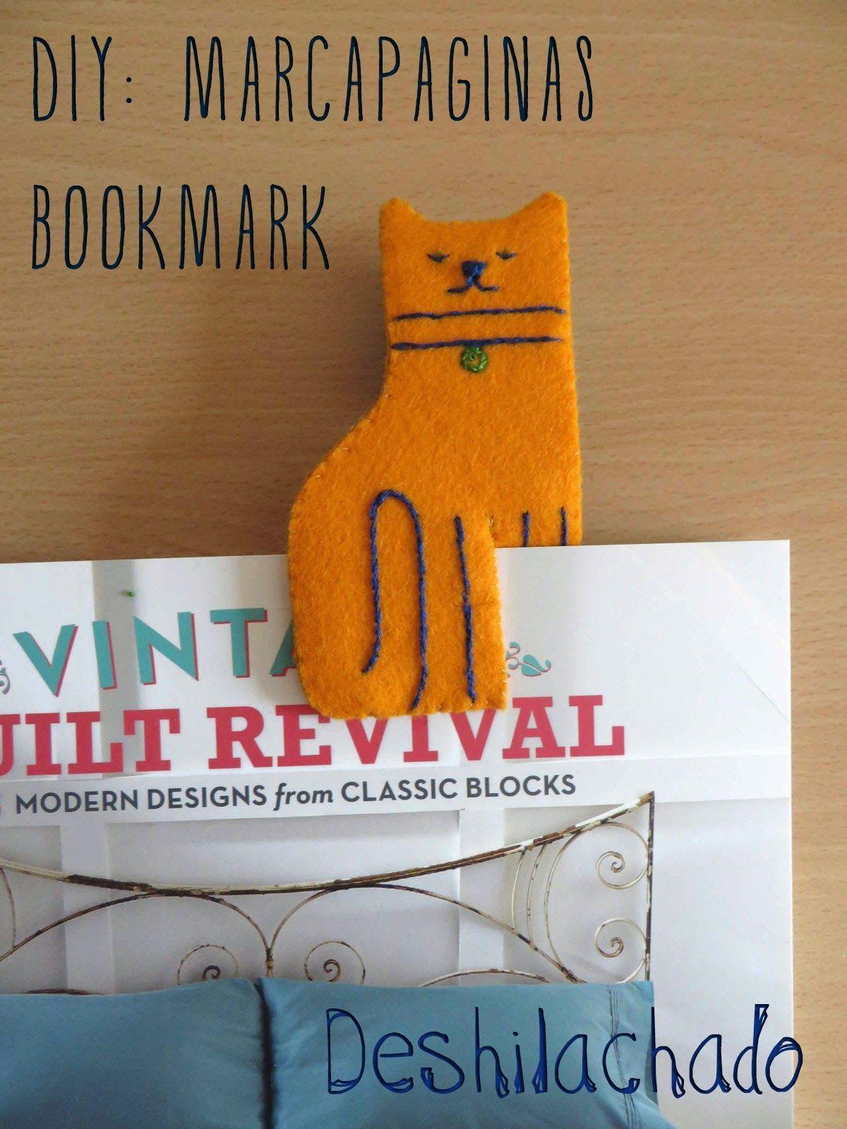 Felt cat bookmark diy bookmark diy ideas diy crafts do it yourself felt cat bookmark diy bookmark diy ideas diy crafts do it yourself diy projects felt cat solutioingenieria Images