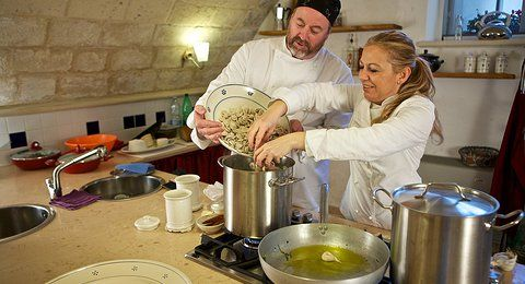 COOKING LESSON IN LECCE