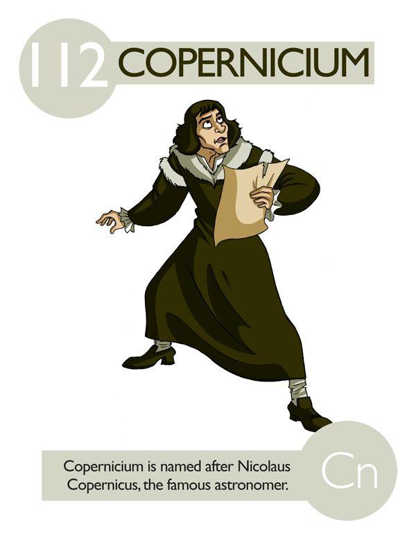 Copernicium Elementos personificados Pinterest Química - new tabla periodica de los elementos quimicos vanadio