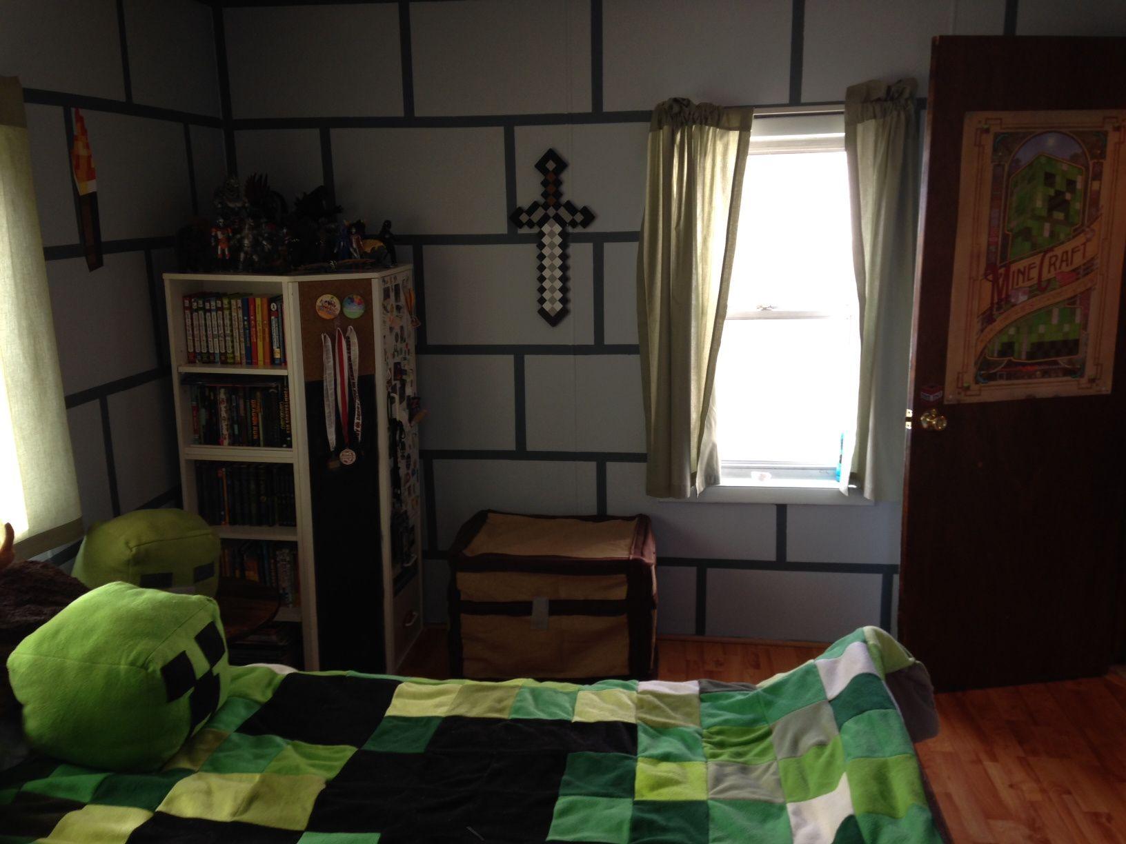 Best Minecraft Bedroom Designs Real Life Lafzrcj Bedroom 640 x 480