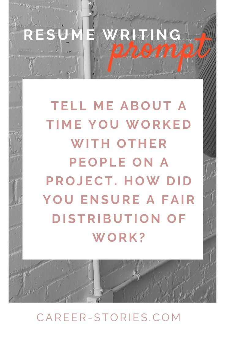 How to talk about Teamwork on your Resume (with prompts ...