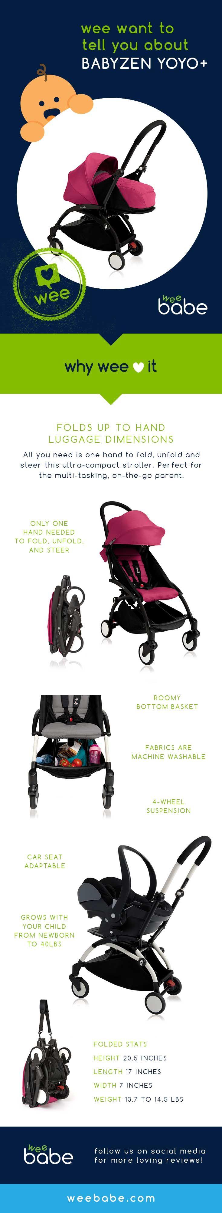 BABYZEN YOYO+ Stroller Review. Wee love the BABYZEN