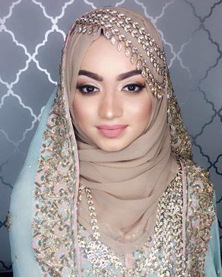 28 Gorgeous Brides Wearing Hijabs On Their Wedding Days