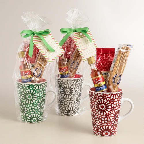 World market holiday blend coffee mug gift set for Christmas place setting gift ideas