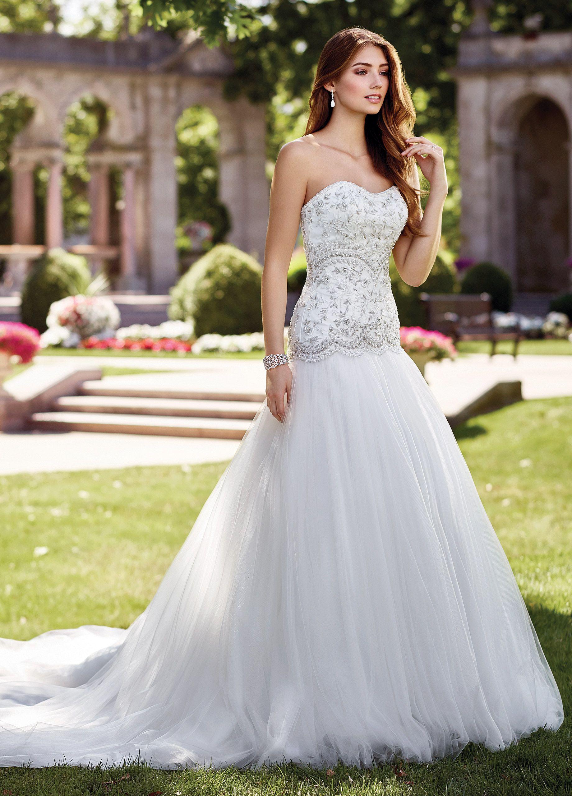 Detachable skirt wedding dress  Intricate HandBeaded Aline Wedding Dress  Nudara  Wedding