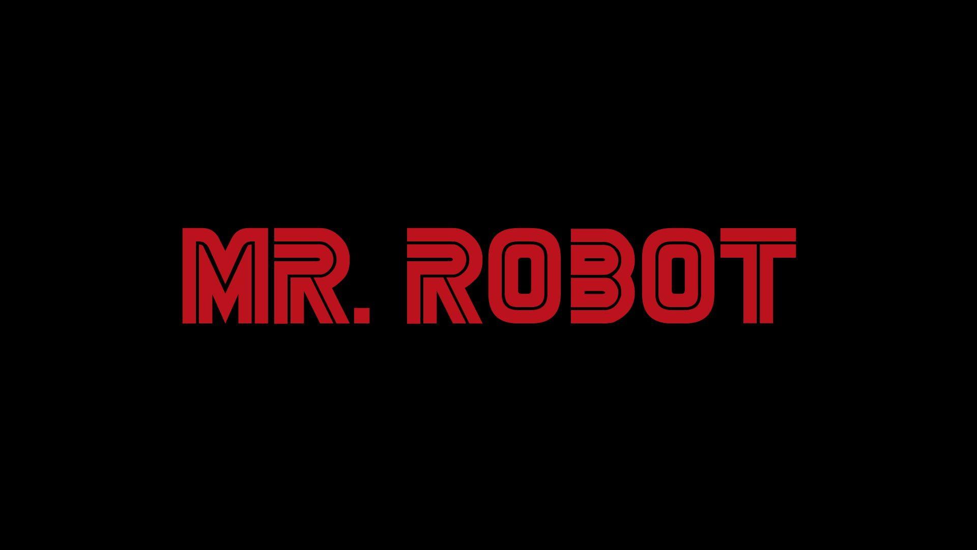 Mr Robot Logo Tv Series 1080p Wallpaper Hdwallpaper Desktop Mr Robot Robot Picture Robot
