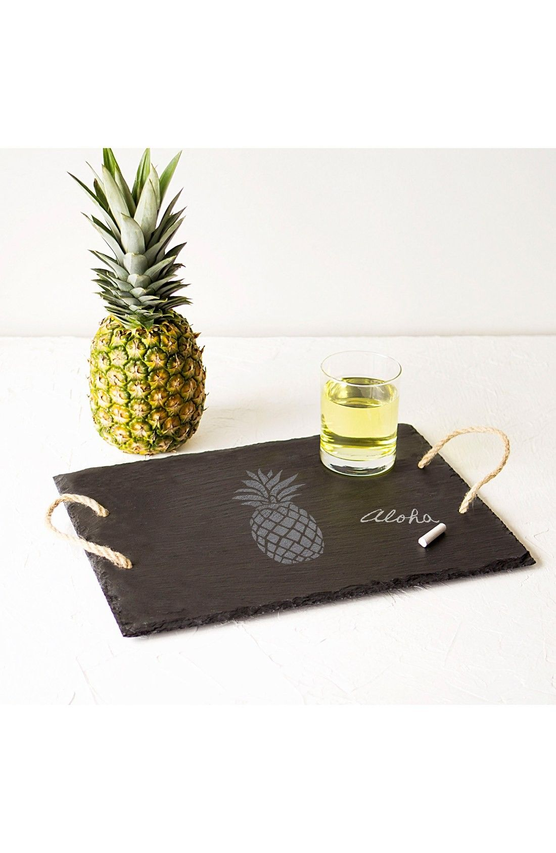 Pineapple slate serving tray pineapples pinterest slate and trays