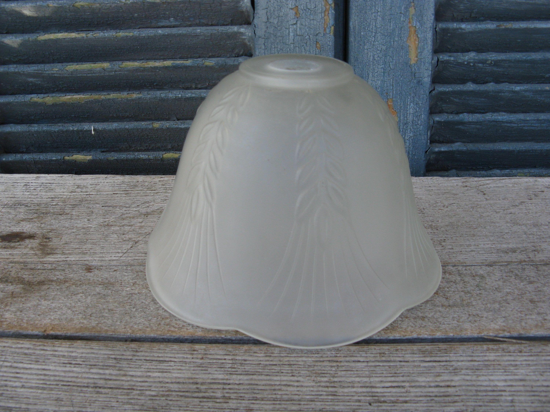 Vintage Satin Glass Lamp Shade Pendant Light Shade Desk Lamp