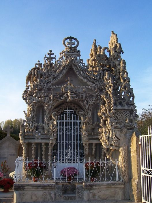 Детали Идеального дворца Шеваля. Фото