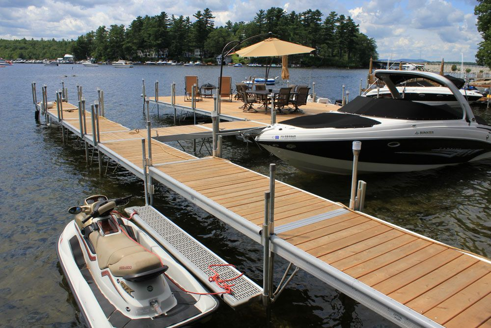 Custom Boat Docks By Great Northern Docks Made In Maine Since 1979