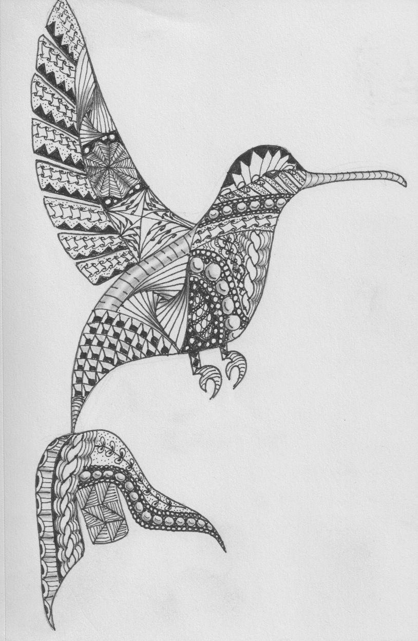 Tzintzuntzan hummingbird es zentangles pinterest tzintzuntzan hummingbird biocorpaavc Images