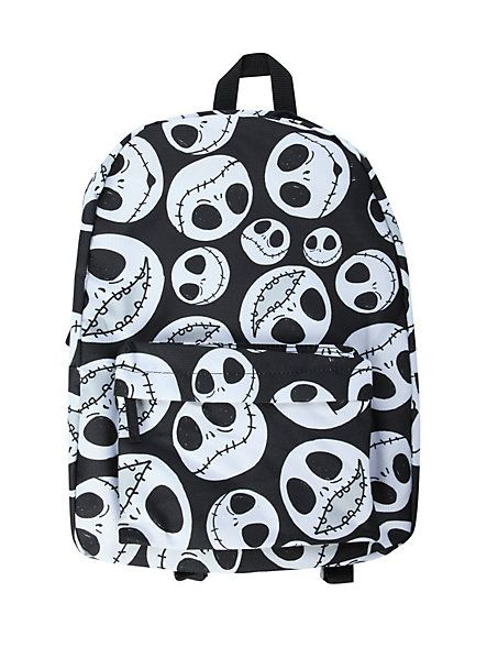 The Nightmare Before Christmas Jack Heads Backpack | Hot