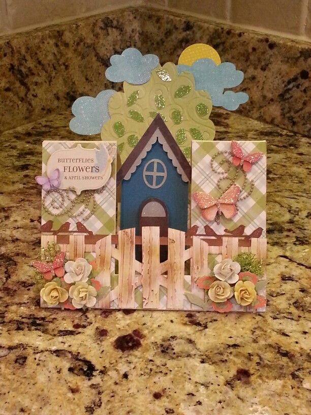 Spring cottage center step card mar 2015 created with dcwv spring cottage center step card mar 2015 created with dcwv whimsical paper stack martha stewart birds punch michaels mini paper roses and mightylinksfo