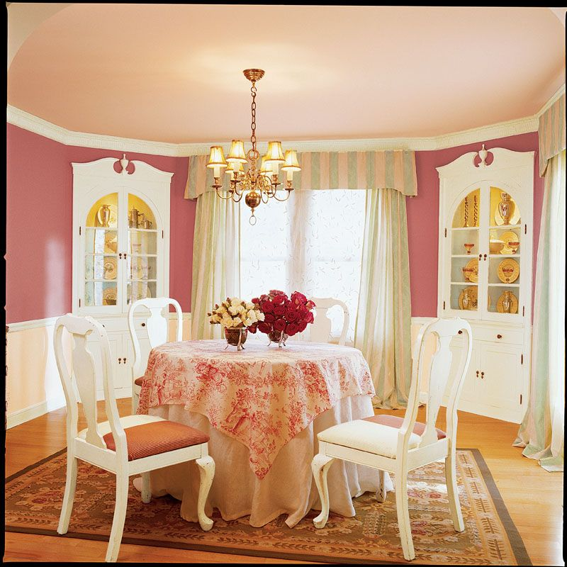 Dining Room Paint Schemes: Sherwin-Williams Heartfelt (SW 6586)