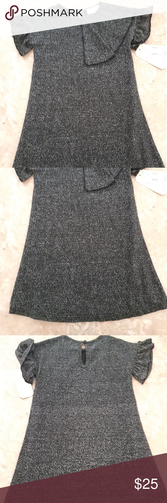 Gb Girls Dress Black Silver Shimmery Size 2t Kids Girls Dresses Shimmery Dress Dresses [ 1740 x 580 Pixel ]