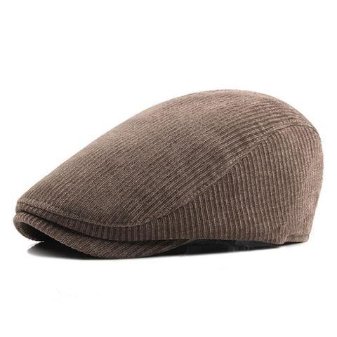 Men  Fashion Winter Beret Hats - Khaki 8802a99c0274