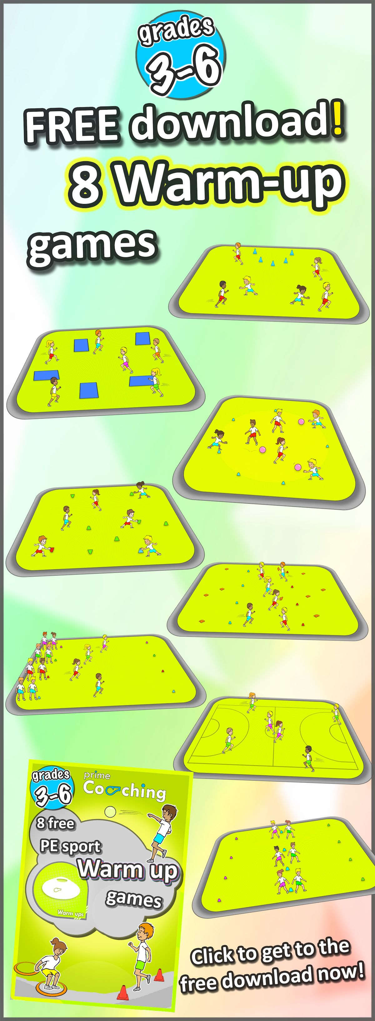 Try Out These Awesome Warm Up Pe Games In Your Next Sport Class Perfect Activities For Grades 3