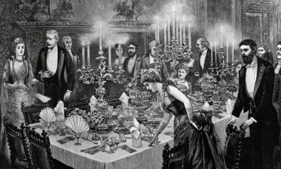 Awesome Victorian Dinner Party Part - 5: Grandiose Dinner Parties: A Remembrance Of Things Past.
