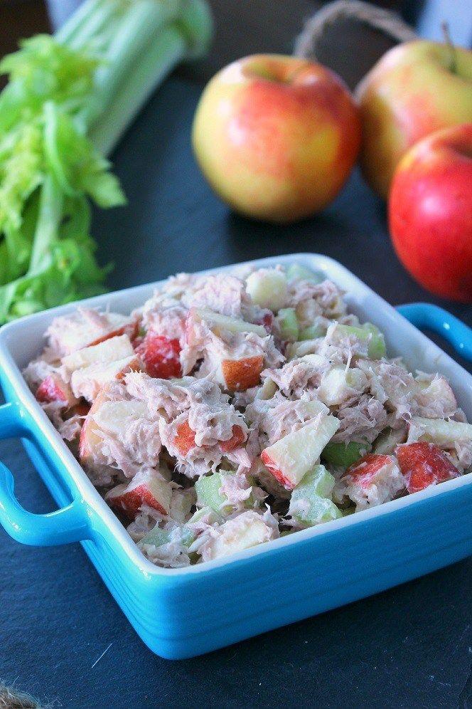 Skinny Greek Yogurt Tuna Salad – The Yooper Girl Recipe Healthy greek yogurt Greek yogurt