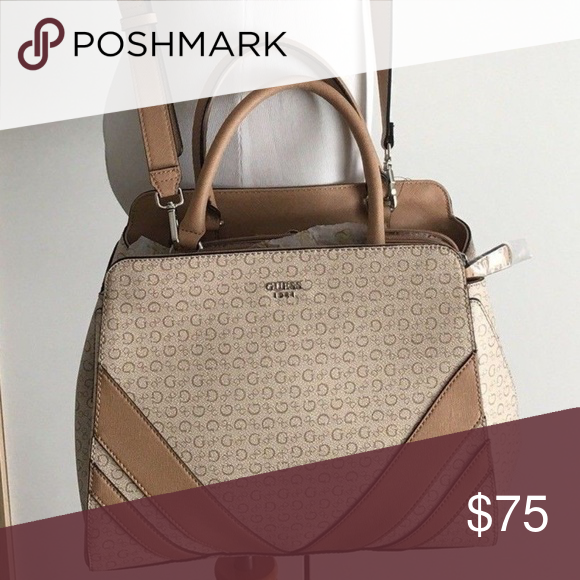 I just added this listing on Poshmark  Guess G Logo Large Purse Satchel  Hand Bag NWT.  shopmycloset  poshmark  fashion  shopping  style  forsale   Guess   ... e88d908622