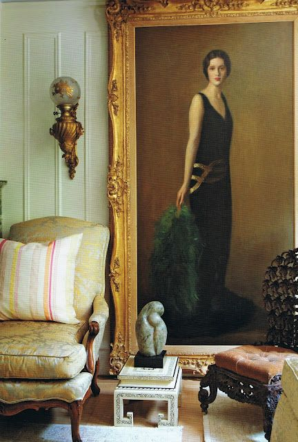 Gloria Vanderbilt S Apartment Portrait Of Her Mother