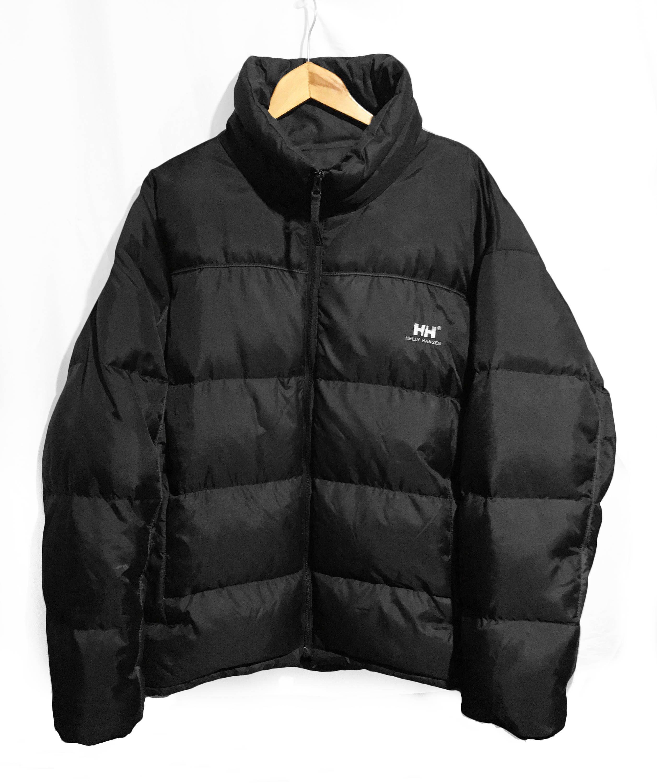 Vintage 90s Helly Hansen Urban Street Style Goose Down Puffer Jacket Dark Gray Black Size Xl Urban Street Style Street Style Jackets [ 3000 x 2515 Pixel ]