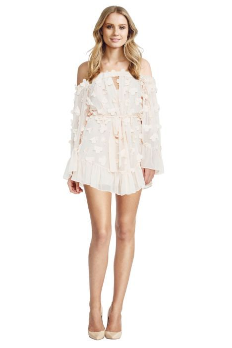 5def776e0b Alice McCall - Pastime Paradise Playsuit Shell Pink - Front