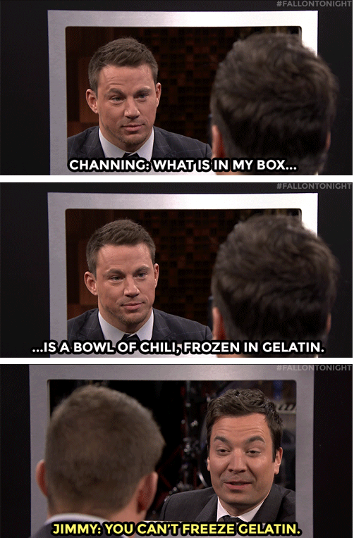 The Tonight Show Starring Jimmy Fallon Liked · Just now ·     Jimmy and Channing Tatum try to stump each other in a game of Box of Lies!