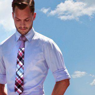 Duo - Tone Tie! Genius! Love it!