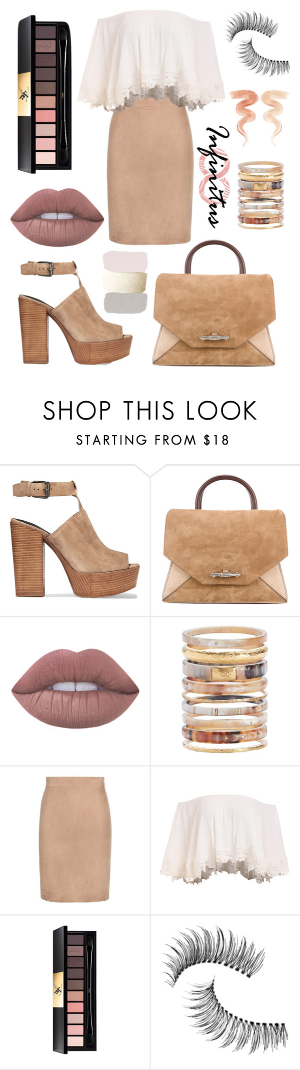 """""""Untitled #133"""" by bicneni on Polyvore featuring Rebecca Minkoff, Givenchy, Lime Crime, Ashley Pittman, Tom Ford, Yves Saint Laurent, Trish McEvoy and Jane Iredale"""