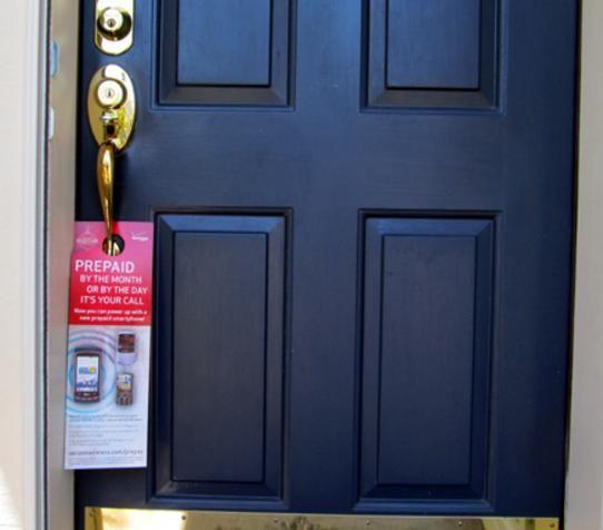 Door Hangers Are A Great Way To Get Your Business Noticed Door Hanger Printing Door Hangers Custom Door Hangers