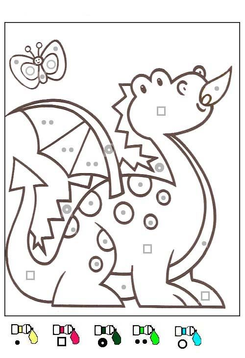 Coloriage Animaux Magique.Coloriage Coloriages Magiques Color By Number For Adults And