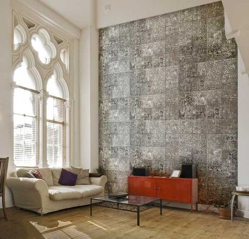 Decorative Wall Tiles Living Room 500×480  Interior Style  Pinterest  Wall Tiles Interiors And