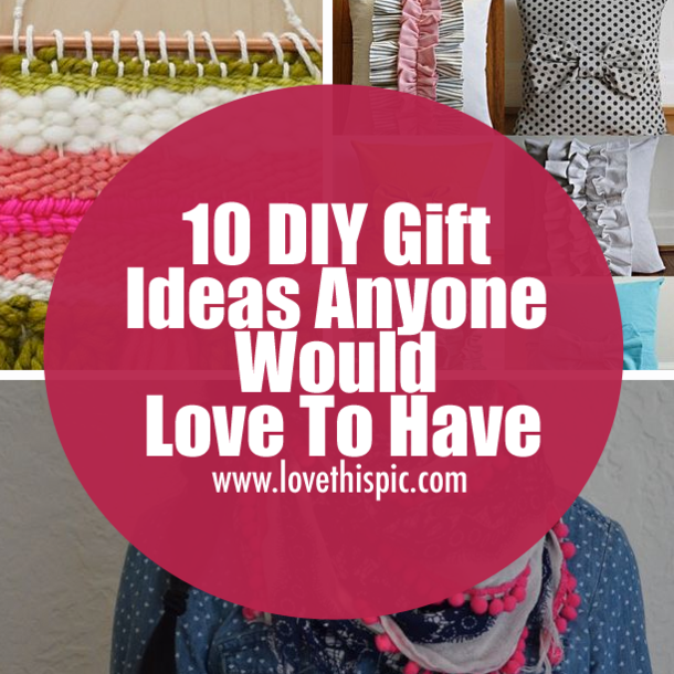 10 diy gift ideas anyone would love to have amazing gifts craft 10 diy gift ideas anyone would love to have solutioingenieria Image collections