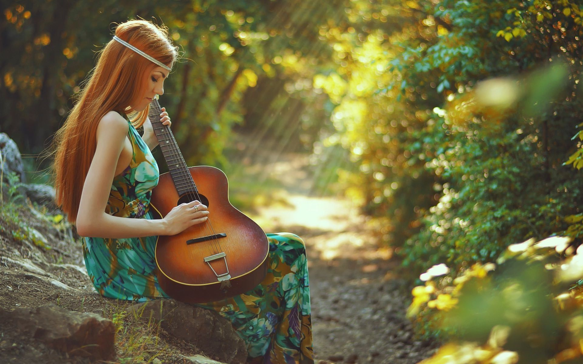 Wallpapers Girl With Guitar HD Download ...