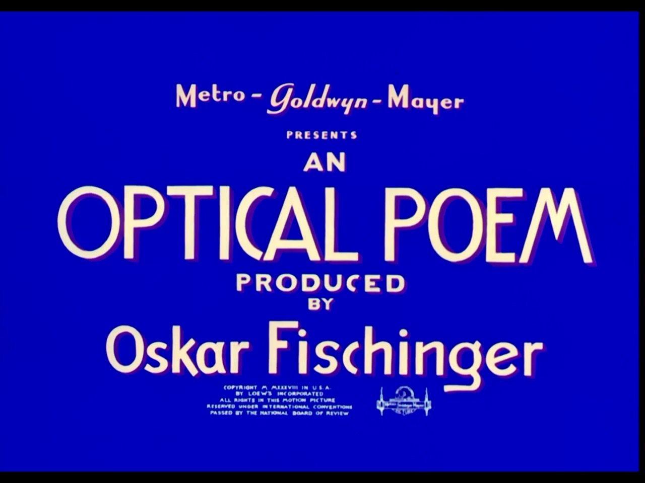 Resultado de imagen de Oskar Fischinger