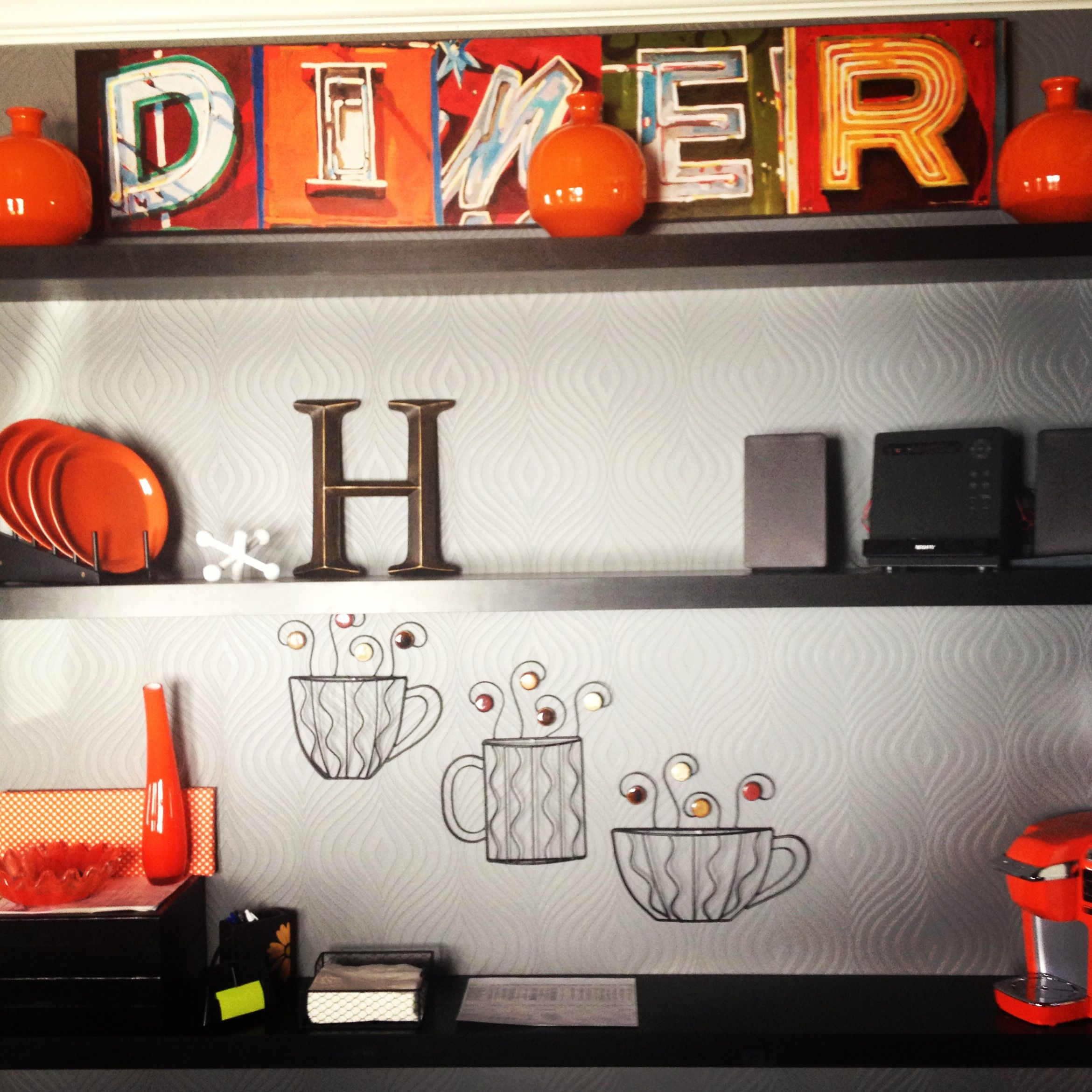 Our kitchen wall house and home pinterest kitchens walls and
