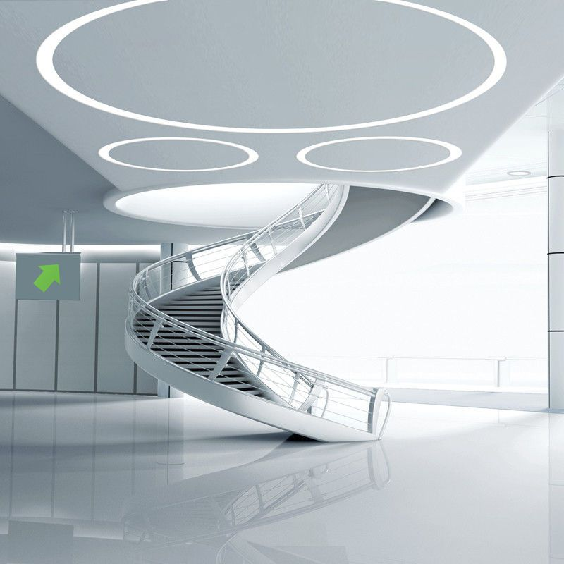 Ceiling Led Lighting Systems : Linear recessed led ceiling luinaire modular lighting