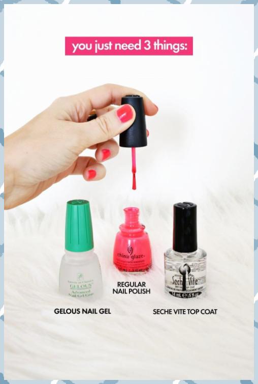 Gel Nail Polish At Home Elegant Do Your Own Gel Manicure At Home A Beautiful Mes 30x40 Aqua Art Baby Craf In 2020 Gel Manicure Manicure At Home Gel Manicure Diy