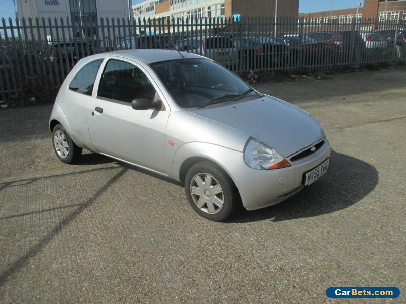 Car For Sale 2005 Ford Ka Style Silver Spares Or Repairs Com