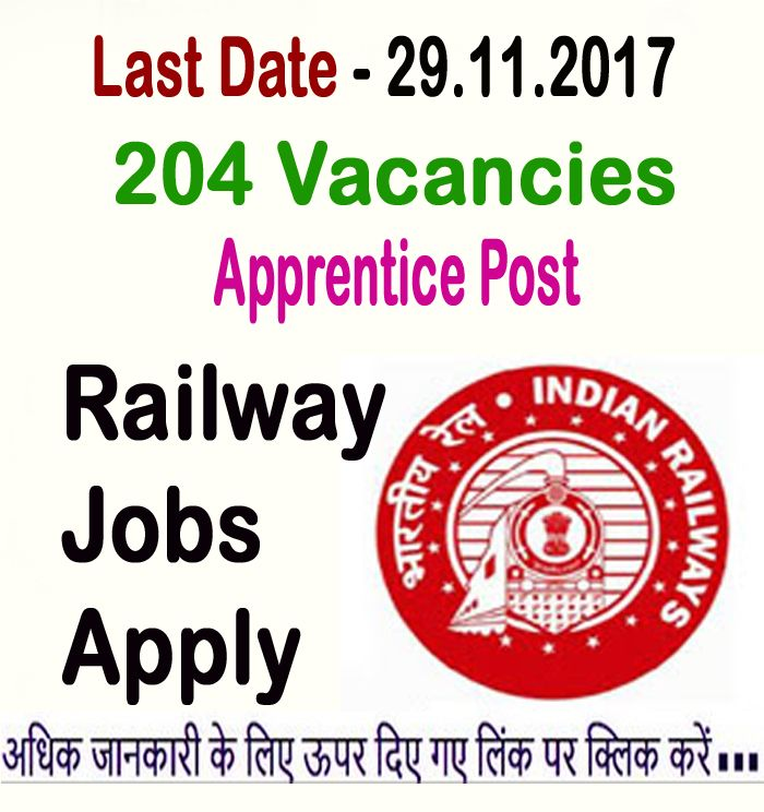 North Eastern Railway Ner Is Inviting Applications From Eligible